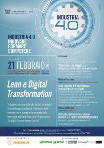 Industria 4.0: Innovare, Formare, Competere_ 21 febbraio 2019